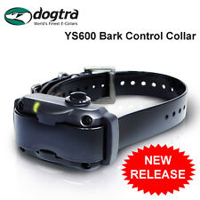 Dogtra YS600 Bark Control Stubborn DOG Rechargeable No Bark & Vibration Pager