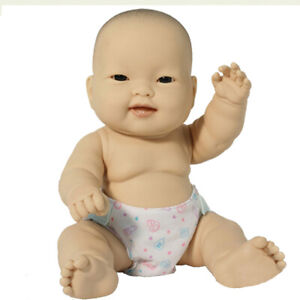 JC TOYS LOTS TO LOVE 10IN ASIAN BABY DOLL
