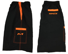 Miken Microfiber Shorts BLACK/ORANGE EXTRA LARGE