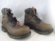 NEW ROCKY HAULER WATERPROOF WORK BOOT (RKK0127) BROWN 9 MED $170