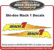 Ski-doo Mach 1  Decal Kit