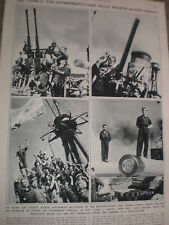 Photo article Spain civil war aboard battleship Jaime I 1936 ref AZ
