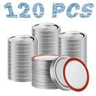 120-Count Regular Mouth Canning Lids - 70MM Mason Jar Regular Canning Supplies