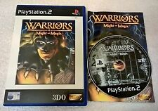 Warriors of Might and Magic - Sony PlayStation 2 - Complete - PAL - PS2