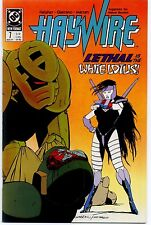 HAYWIRE  (1988) #7  DC Comics VF/NM