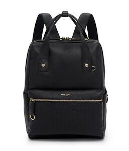 henri bendel Influencer Black Backpack NEW!