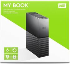 WD Western Digital 6TB MY BOOK Desktop External Hard Drive WDBBGB0060HBK 6 TB