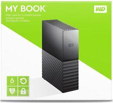 WD Western Digital 6TB MY BOOK Desktop External Hard Drive WDBBGB0060HBK 6