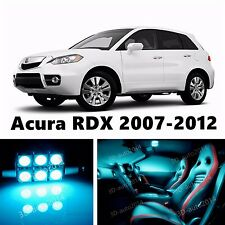 13pcs LED ICE Blue Light Interior Package Kit for Acura RDX 2007-2012