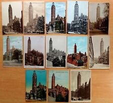 13 Vintage Postcards WESTMINSTER ROMAN CATHOLIC CATHEDRAL London UK 1908-1915