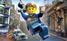 Vlies Fototapete Tapete Poster Polizei Lego City + KLEISTER T3