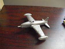 Vintage Hard Plastic Usaf Fighter Airplane Look