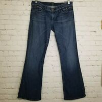 Citizens of Humanity Womens Jeans Size 31 Flare Bootcut Wide Leg Dark Wash COH