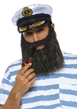 Sea Captain's Accessory Kit by Leg Avenue™/Includes Beard Pipe & Hat/OS/NWT