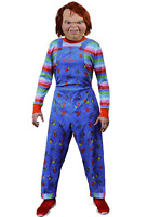 Trick or Treat Childs Play 2 Chucky Deluxe Adult Mens Halloween Costume GZUS100