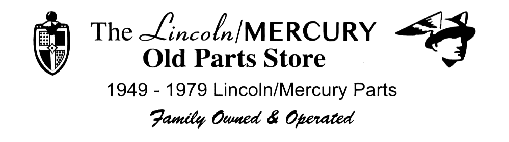 The Lincoln/Mercury Old Parts Store