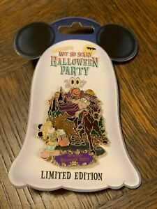 Disney 2007 Mickey's Not So Scary Halloween Party 3D Limited Edition Trading Pin