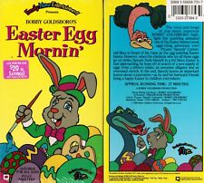 Easter Egg Morning VHS Video Tape New Bobby Goldsboro family Home Entertainment