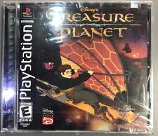 Treasure Planet (Disney, 2002) Sony Playstation 1 PS1 PSX Factory Sealed NEW
