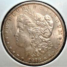 1878-CC Morgan Silver Dollar, Nice