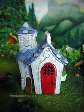 Farm House style Chicken Coop GO 17619 Miniature Fairy Garden Dollhouse