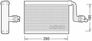 DENSO AIR CONDITIONING EVAPORATOR FOR A BMW 1 CONVERTIBLE 3.0 225KW