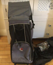 Bush Baby Carrier Backpack Lite 2.2kgs Child Up To 20kgs Rain + Sun Canopies