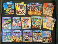 MOTU Masters of the Universe He-Man Mini Comic Books LOT of 23 some duplicates
