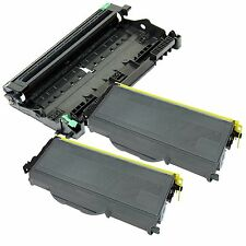 2 x TN360 Toner & 1 x DR360 Drum  for Brother  HL-2140 HL-2150N HL-2170W