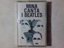 MINA Canta i Beatles mc SIGILLATA