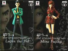 BANPRESTO LUPIN III DXF STYLISH FIGURE LUPIN THE 3RD & FUJIKO Vol.1 FIGURE 2013