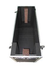 "DUAL 60"" LCD LED Plasma TV Custom Heavy Duty Road Case Made in USA"