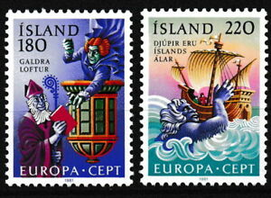 Island - Folklore Satz postfrisch 1981 Mi. 565-566