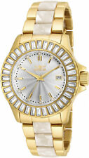 Invicta Women's Angel Two-Tone Stainless Steel Crystal Accented Watch 17940