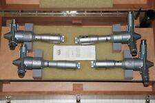 Swiss Tesa Imicro Three Point Internal Micrometer Metric Set 100 200 Mm 001mm