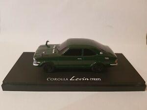 KYOSHO OLDTIME SERIES - TOYOTA COROLLA LEVIN TE27 [GREEN] CAR MINT BOX GOOD