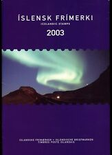 Iceland 2003 Official Year Pack Complete as Issued
