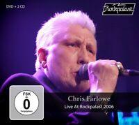 CHRIS FARLOWE - LIVE AT ROCKPALAST 2006  2 CD+DVD NEU