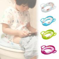 Baby Travel Potty Seat Portable Toilet Seat Kids Safety Cushion Training Stool
