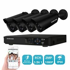 8CH 1080P DVR HDMI 4 2.0MP outdoor IR Bullet Cameras Night Home Security System