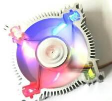 PC Gehäuselüfter Kühler 80mm Alu 4 LED 8cm Lüfter 80 x 80 x 25mm Low Noise Fan