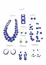 Fantastic 9 Piece Blue Summer Jewelry Lot nwt $136 Ticket Price #BLUELOT