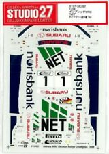 "STUDIO27 1/24 SUBARU IMPREZA WRC ""NET"" German Championship '99 DC357 Decal"