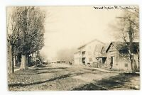 RPPC Street View Hotel Stores Blacksmith in PRATTSBURG NY Real Photo Postcard