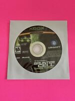🔥 MICROSOFT XBOX - 💯 WORKING GAME DISC ONLY🔥SPLINTER CELL CHAOS THEORY