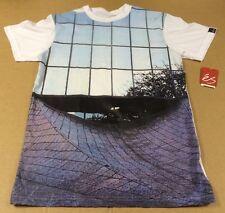 ES Photo Spot Skateboards Skate USA écran T-shirt imprimé-homme taille S