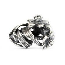 Ciondolo Trollbeads Giunchiglia Di marzo TAGBE-00029 Argento Beads Silver perla