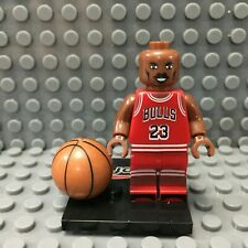Michael Jordan Custom Minifigure NBA Minifigures Lego Compatible