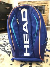 HEAD Athletic Unisex Tennis Workout Sports School Backpack Great Preowned Cond