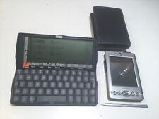 Psion Series 5 Palmtop Handheld Computer & Dell Axim X30